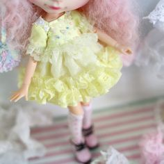 Doll clothes for Neo Blythe by RabbitinthemoonThai on Etsy