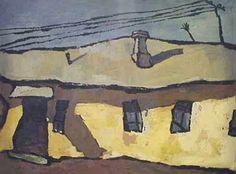 """Оскар Рабин, """"Оптимистический пейзаж"""", 1959"""