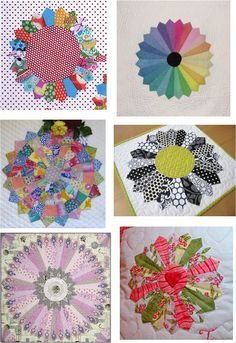 Free pattern day - Quilt Inspiration - Dresden Plates