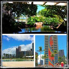 Hawaiian hilton village in Honolulu