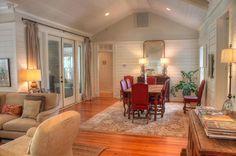 Sullivan's Island Gigi House panelling shiplap cottage details dining room