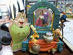 Disney Beauty and the Beast Musical Snow Globe
