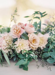 Film Photographer Jen Huang Sunstone Villa Wedding Davia Lee Events Camellia Floral Design Peachy Hues