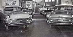 57 Chevrolet Dealership