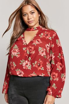 d61a4fd58 11 Great INstyle Plus Size Women's Blouse & Tops images in 2019
