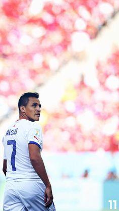 Alexis. Chile NT. Lock screen. Soccer Players, Football Soccer, Alexis Sanchez, Arsenal Fc, Arsenal Football, World Cup Teams, European Football, Premier League, Hot Guys
