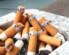 eyebombing - cigarettes