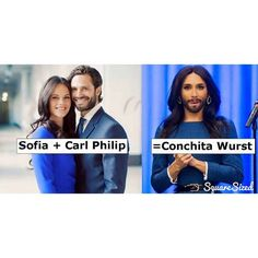 We saw this on Twitter. It confirms that the #SwedishRoyalWedding is all about #Eurovision winner @conchitawurst.