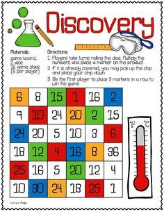 Lory's 2nd Grade Skills: Math Game Boards