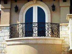 Mexican Wrought Iron Balcony | 1049-060-balcony-milan-2