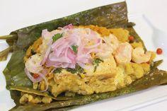 TAMAL CARIBEÑO   Lucero Vilchez Cocina Tamales, Colombian Cuisine, Colombian Recipes, Dinners, Dishes