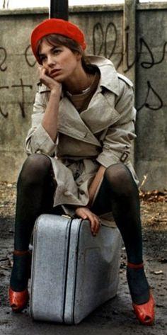 Jane Birkin, still glorious. More