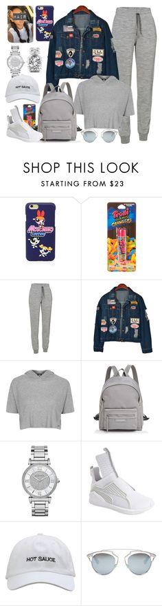 """""""When Your Teacher Rescheduled The Class On A Saturday Morning  😩😪"""" by cissylion ❤ liked on Polyvore featuring Moschino, claire's, Icebreaker, Chicnova Fashion, Topshop, Longchamp, Michael Kors, Puma, Christian Dior and Victoria's Secret"""
