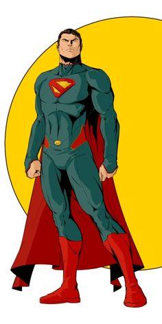 Superman by rodavlasalvador on DeviantArt