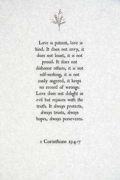 1 corinthians 13:4-7 #weddingceremony