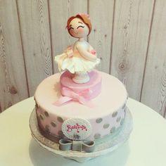 #bailarina#ballet#dancer#cake#lapequeñapasteleriademama (en La Pequeña Pastelería de Mamá)