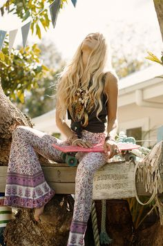 .Love the hippie pants brings back good thoughts