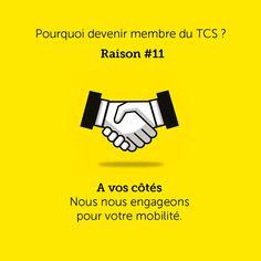 Une #raison pour devenir membre !