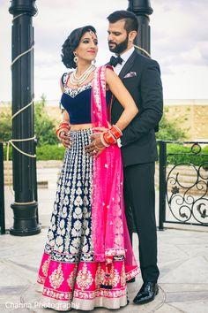 Photo: Reception Portraits | Maharani Weddings