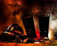 Resultado de imagen para firefighter art