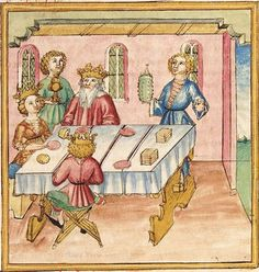 Pontus und Sidonia — Stuttgart (?) - Werkstatt Ludwig Henfflin,  um 1475  Cod. Pal. germ. 142  Folio 125r
