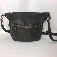 THE SAK Brown Purse Pebbled Leather IRIS Hobo Over the Shoulder Bag  #TheSak #Hobo