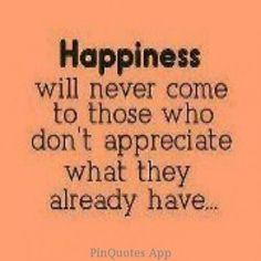 appreciate all you have