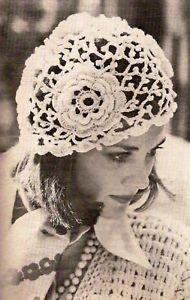 Vintage Irish Crochet Patterns Free | Irish Rose Crochet Hat Vintage Crochet Pattern 359 | eBay