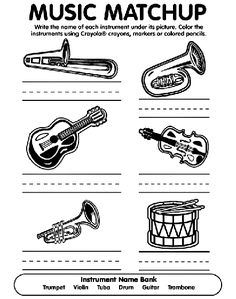 Brazil Musician Coloring Pages