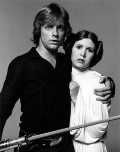 Luke and Leia Skywalker I think Leia is capable of taking care of herself, Luke.