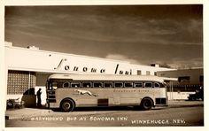 "Greyhound Bus Super-Coach a.k.a. ""Silversides"", 1940s by aldenjewell, via Flickr"