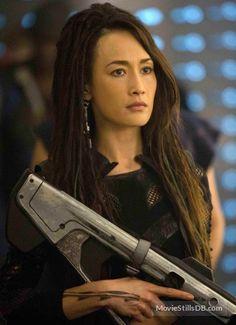 Maggie Q como Tori -divergente