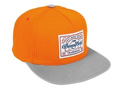 Anti-Work Orange Snapback cap by BENNY GOLD