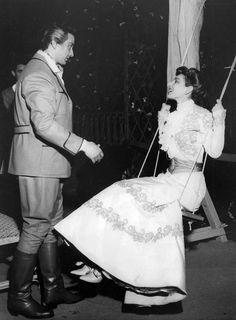 Franco Corelli and Maria Callas in Fedora