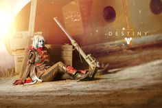 Myself as an awoken hunter from Destiny. Costume made by me in collaboration with Activision and Bungie. Picture by SKYLineCosplay Cosplay tutoria. Destiny Cosplay, The Birthday Massacre, Deviantart, Christmas Ornaments, Holiday Decor, Creative, Anime, Pictures, Lights