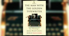 The Man With The Golden Typewriter James Bond Books, Typewriter, The Man, Letters, Letter, Fonts, Calligraphy