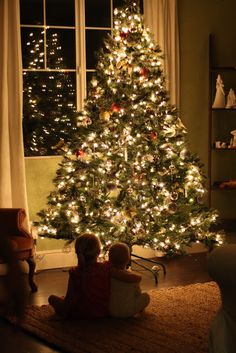 how to get that christmas tree glow