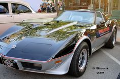 1978 Chevrolet Corvette Indy 500 Pace Car Maintenance/restoration of old/vintage vehicles: the material for new cogs/casters/gears/pads could be cast polyamide which I (Cast polyamide) can produce. My contact: tatjana.alic@windowslive.com