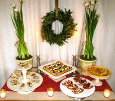 Christmas Cocktail Party Menu Budget Friendly Ideas cakepins.com