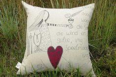 Message Scatter Cushion | Mooi Goete