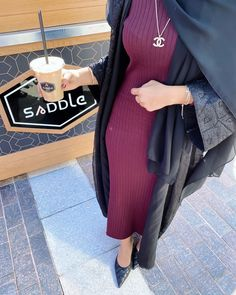 Hijab Fashion, Girl Fashion, Fashion Dresses, Dps For Girls, Sad Wallpaper, Aesthetic Backgrounds, Abayas, Arabic Quotes, Picture Quotes