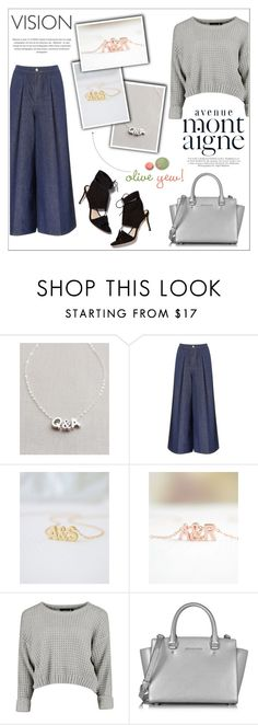 """""""Oliveyewjewelry"""" by water-polo ❤ liked on Polyvore featuring Victoria, Victoria Beckham, Loeffler Randall, Michael Kors, Avenue, polyvoreeditorial, handmadejewelry and oliveyew"""
