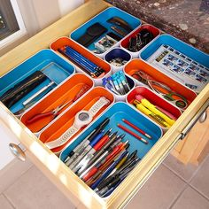 Metal Drawer Organizers | The Container Store