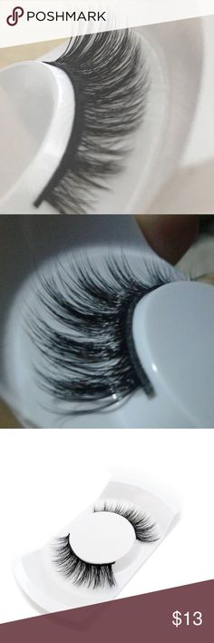 3D MiNK NATURAL FAKE EYELASHES BRAND NEW! Comes with 1 pair of 3D mink lashes, full strip lashes. Handmade. 14mm. ❌no glue❌ DYOSARA Makeup False Eyelashes