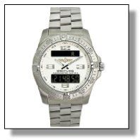 Breitling Aerospace, Time Zones, Watches For Men, Digital, Track, Accessories, Shopping, Athlete, Men's Watches