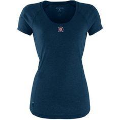 Antigua Womens Mls Chicago Fire Pep Short-Sleeve Tee Navy Small, Women's, Blue