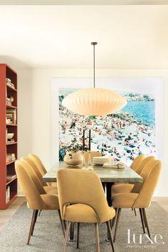Modern Cream Dining Room