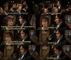I feel you, Mr Darcy.