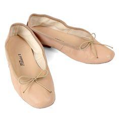 Porselli Ballet Flat 0,5 cm heel Nude