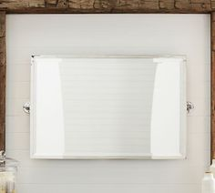 Pic Of Kensington Pivot Rectangular Mirror Pottery Barn